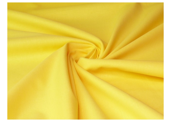 cotton solid light yellow
