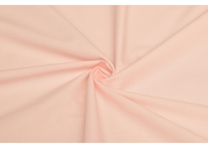 cotton voile solid light salmon