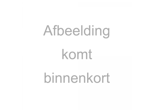 Nicky velour striped multicolor mint/white/blue/grey 3mm