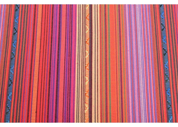 Mexican stripes red multicolor