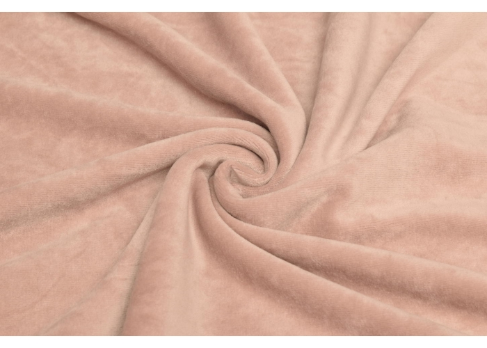 Nicky velour light old pink