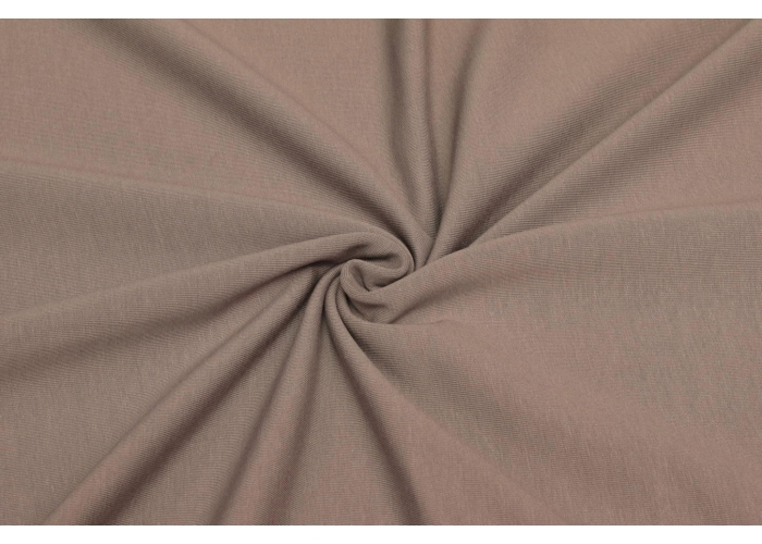 Sommersweat Organic taupe
