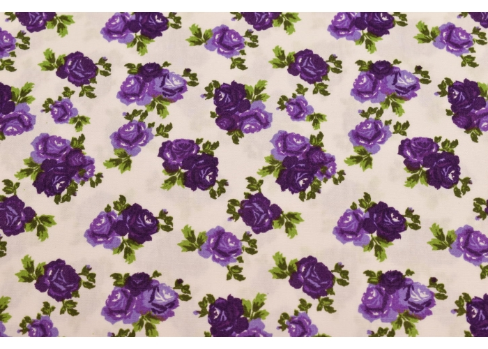 cotton flowers purple