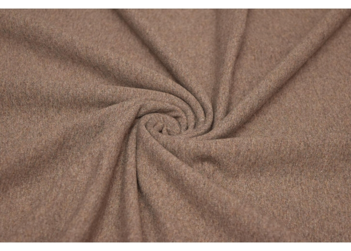 Sommersweat meliert taupe/braun
