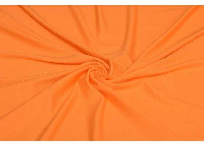Viskosejersey orange