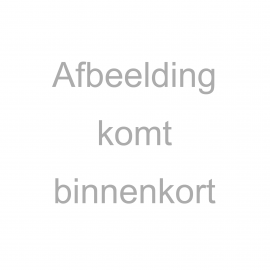 Jacquard tricot strepen donkerblauw/rood/grijs