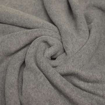 Polar Fleece grau meliert
