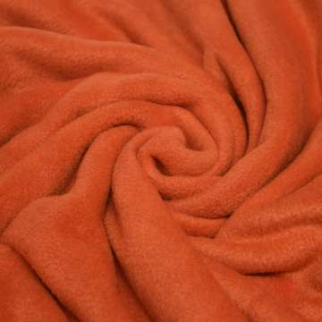 Polar Fleece rotbraun