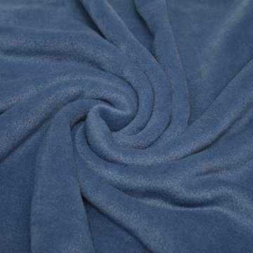 Polar Fleece stahlblau