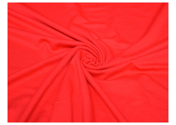 viscose tricot rood